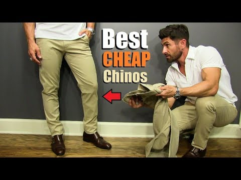 Testing Budget Friendly Chino Brands To Find The BEST (All Under $50) | Style Safari VLOG
