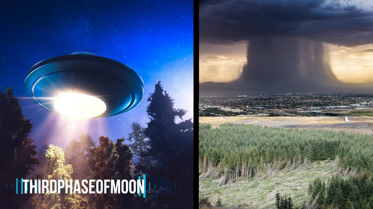 UFO CRASH Reports In The UK! Something Strange Happened Outside This Mans Home!
