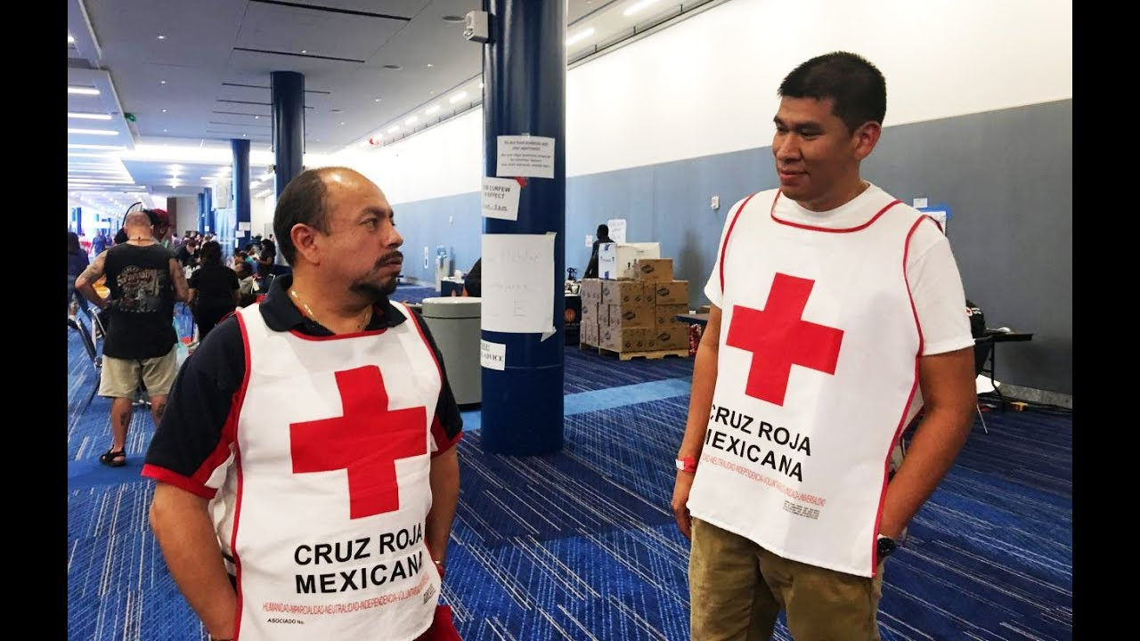 Mexican Volunteers Bringing Food And Supplies To Hurricane Harvey Victims thumbnail