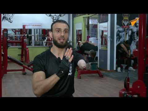 فلسطيني يتحدى الإعاقة برياضة كمال الأجسام... صور وفيديو