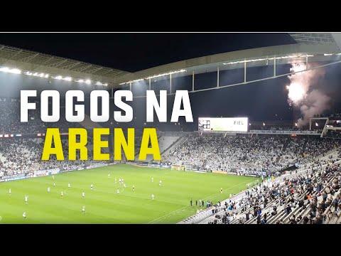 Aniversário do Corinthians: Queima de fogos e bandeirão dos Gaviões