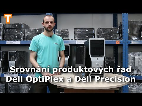 Srování produktových řad Dell Optiplex a Precision