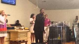 Courtney Franklin sings The Lord Will Make A Way