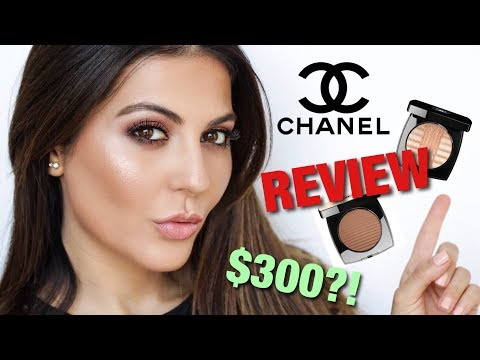 I TRIED NEW CHANEL MAKEUP WORTH $300 | FOUNDATION, HIGHLIGHTER + BRONZER REVIEW