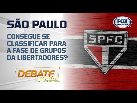 SÃO PAULO CONSEGUE SE CLASSIFICAR PARA A FASE DE GRUPOS DA LIBERTADORES?