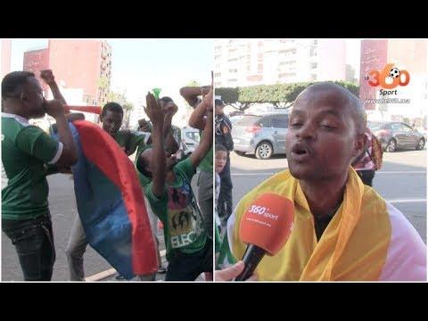 العرب اليوم - شاهد: جماهير جزر القمر تُشعل أجواء مركب محمد الخامس