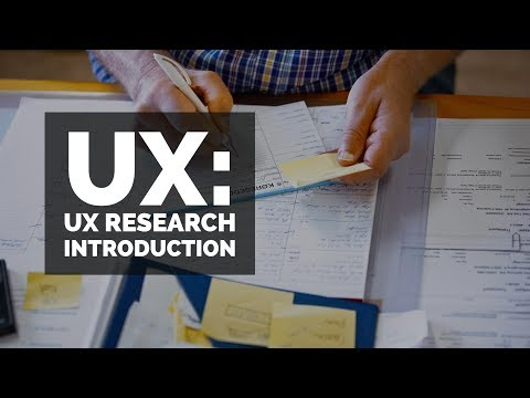 UX Research introduction - UX design course [8/29] - YouTube