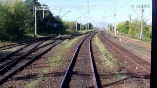 preview picture of video 'Train ride / Przejazd pociągiem TLK Czerwieńsk - Zielona Góra, linia 273'