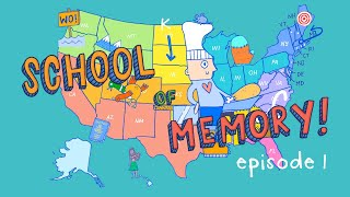 Memorize ALL 50 US States (School of Memory Ep. 1)
