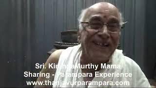 Sri. Krishnamurthy Mama sharing hisParampara experience