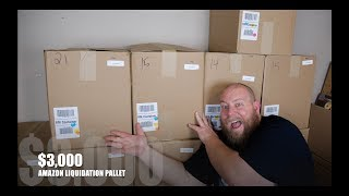 THE FIRST $3,000 Amazon Customer Returns Pallet On The Channel + It's a Good One!