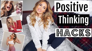 How to be more POSITIVE & HAPPY | Positive Thinking Hacks