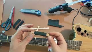 How To Make A Capo For Your Guitar. Diy Cheap Homemade Capo