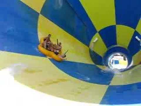 Super zjeżdżalnia w aquaparku na Florydzie