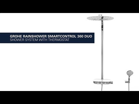 Душевая система Grohe Rainshower SmartControl 360 Duo (26250000) 5