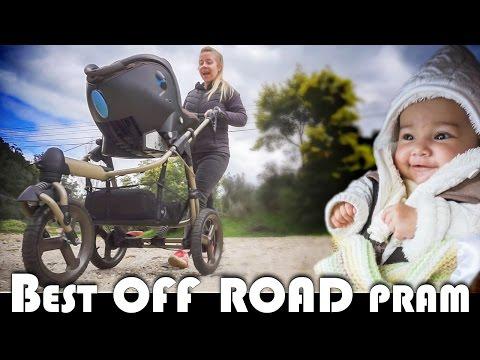 👶 THE BEST OFF ROAD PRAM – BÉBÉ CONFORT HIGH TREK REVIEW –  FAMILY VLOGGERS DAILY VLOG