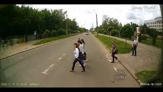 Подборка аварий на видеорегистратор 2017