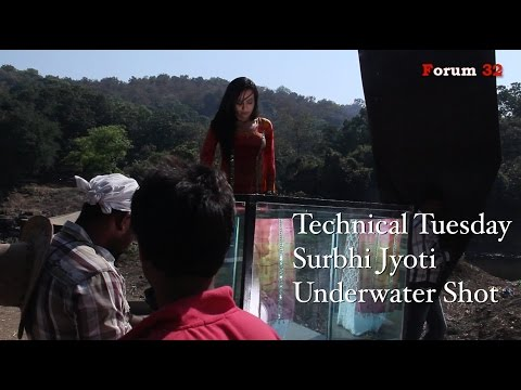 Qubool Hai | Surbhi Jyoti Underwater Shot | Technical Tuesday | Screen Journal