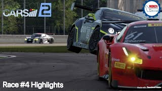 Project CARS 2 Monza Highlights EDC championship Race 4 Gameplay PS4