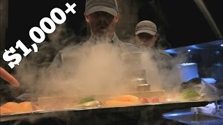 Asia's Most Expensive Restaurant ($1,000+/person) - Video Youtube
