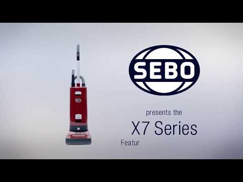 Sebo Upright Cleaner 91503GB - Red Video 1