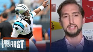 Adding Cam Newton makes Patriots real Super Bowl Contenders — Nick Wright | NFL | FIRST THINGS FIRST
