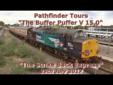 37069 & 37059 on 'The Buffer Puffer 15.0' plus DEMU 1001 29t…