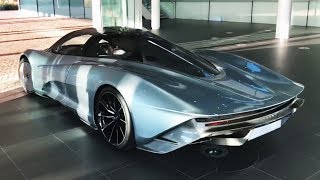 Самый быстрый McLaren! McLaren SpeedTail. Лучшая аэродинамика?