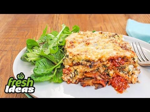 Best Lasagne Recipe with Mushrooms