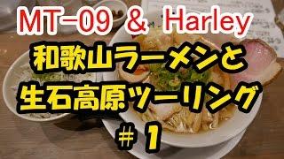 和歌山ラーメンと生石高原ツーリング #1【MT-09】【ハーレー】