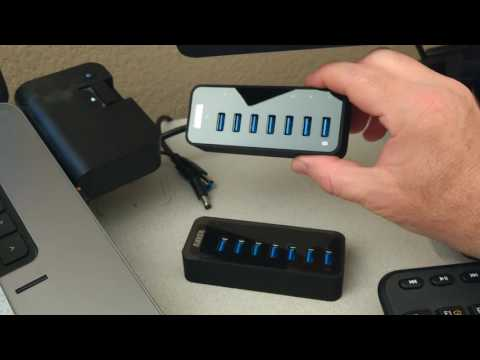 UnBoxing & Review: Anker 7-Port USB 3.0 Data Hub with 36W Power Adapter