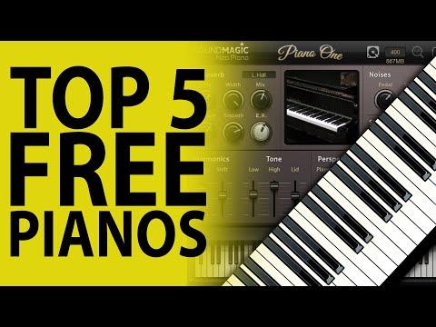 Top 5 Free Piano VST Instrument Plugins