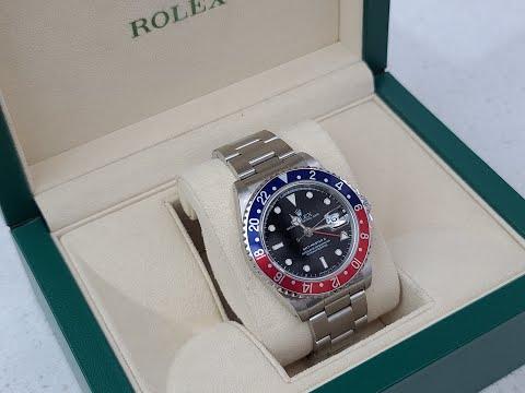 ROLEX GMT-MASTER PEPSI 16710A30B