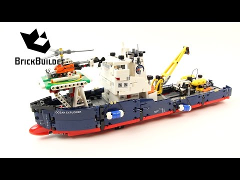 Vidéo LEGO Technic 42064 : Le navire d'exploration