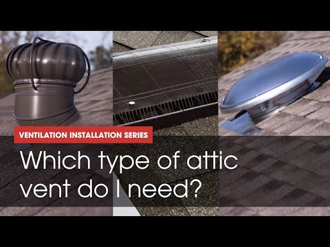 GAF Energy | Attic Venting 101