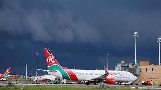 Kenyan falls to his death from a KQ flight in London, UK