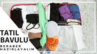 TATİL BAVUL HAZIRLAMA VE DÜZENLEME  Tatil Çantamda Ne Var?  İpek Eraslan