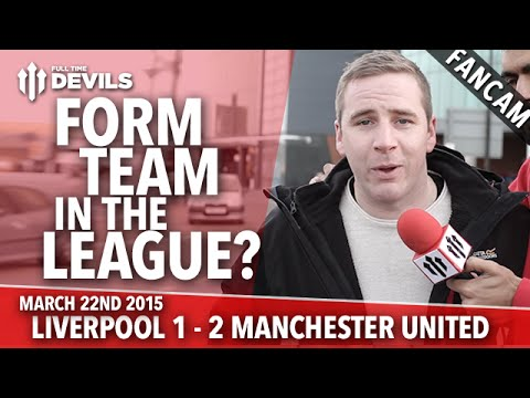 Form Team in the League? | Liverpool 1 Manchester United 2 | FANCAM