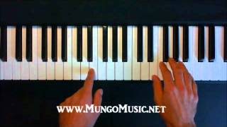 How To Play  The Cave by Mumford and Sons on piano