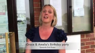 Grace & Amelia's birthday party