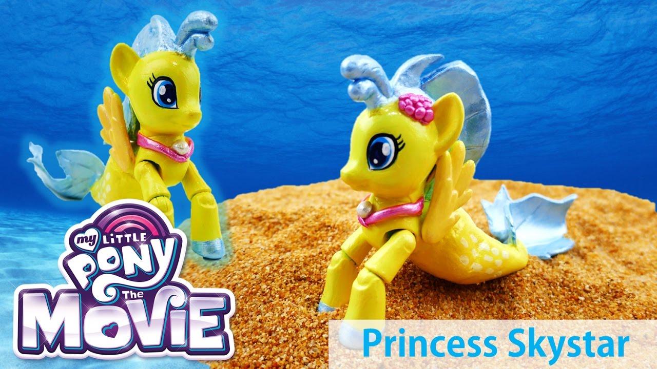 My Little Pony: The Movie (2017) Princess Skystar SeaPony Custom Doll Tutorial