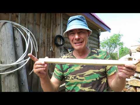 Изготовление деревянных граблей для сена.  Часть 1