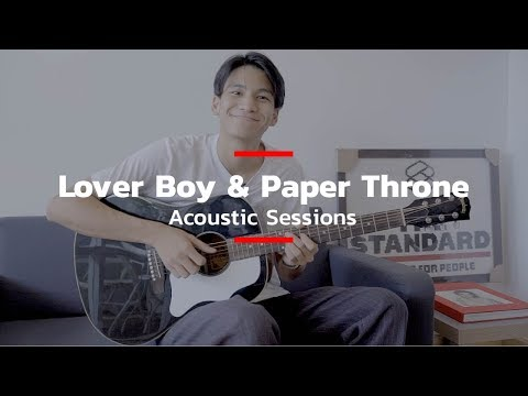 Phum Viphurit-Lover Boy & Paper Throne Acoustic Sessions