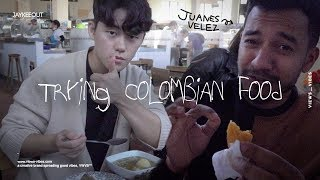 A Korean Trying Colombian Food For The First Time (colombian Food, Desserts, Hiking), Jay X VWVB