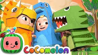 Dinosaur Day Song | CoCoMelon Nursery Rhymes & Kids Songs