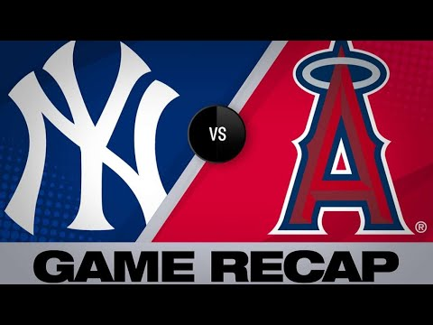4/23/19: Voit homers twice in Yanks' win over Halos