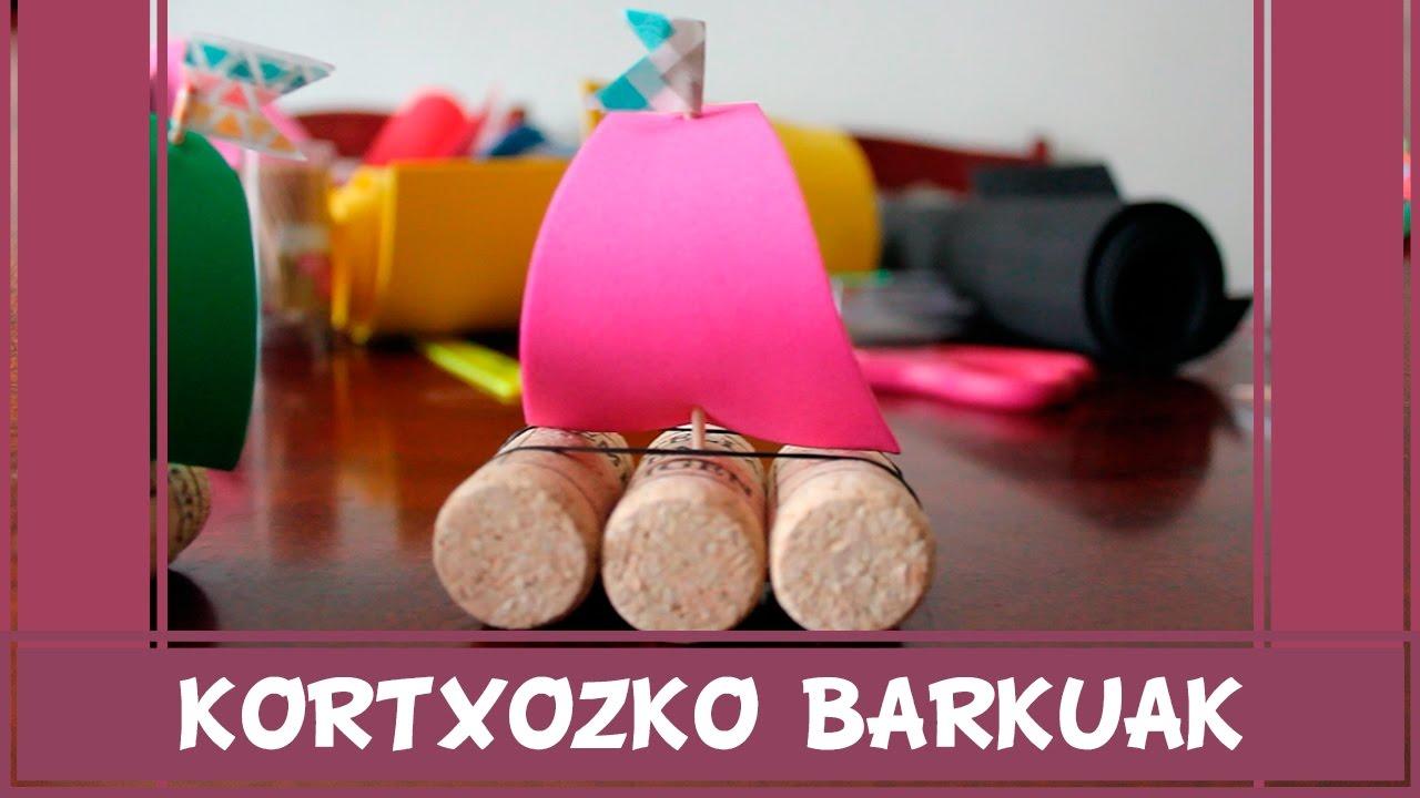 Kortxozko barkuak - Eraiki zuk zeuk eta nabigatu itsasoetan zehar!