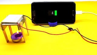 Free Energy Mobile Charger Using TEC1-12706 - Homemade Mobile Phone Charger - Using TEC1 - 12706