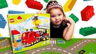 Конструктор lego duplo town пожарный грузовик 10592