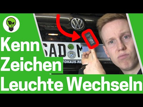 Kennzeichenbeleuchtung wechseln ✅ ULTIMATIVE ANLEITUNG: Einbau Nummernschildbeleuchtung - VW Golf 6!